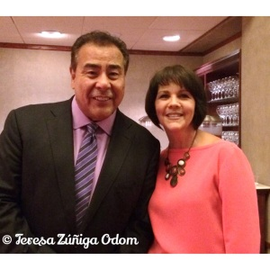 Meeting John Quiñones for the 2nd time at UAB 2014