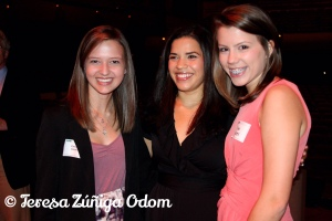 My daughter, Emily and her friend Maya Madden, with America Ferrera at UAB in 2011