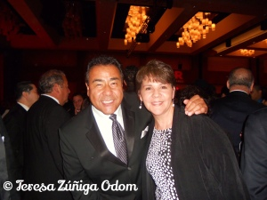 Meeting John Quiñones at the NCLR Conference in San Antonio, TX (2010)