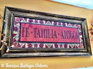 Fe * Familia * Amigos