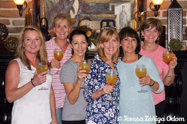 Cheers from the Boondocks Gang ladies!