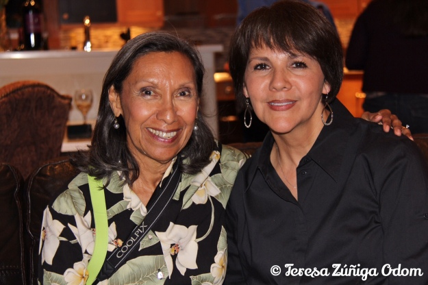 With my cousin Chila at the Zuniga Family reunion in Denver, Colorado - July 2013