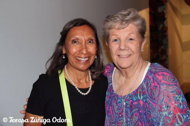 My mother, Barbara Zuniga with her niece, Chila. Zuniga family reunion 2013 in Denver, CO.
