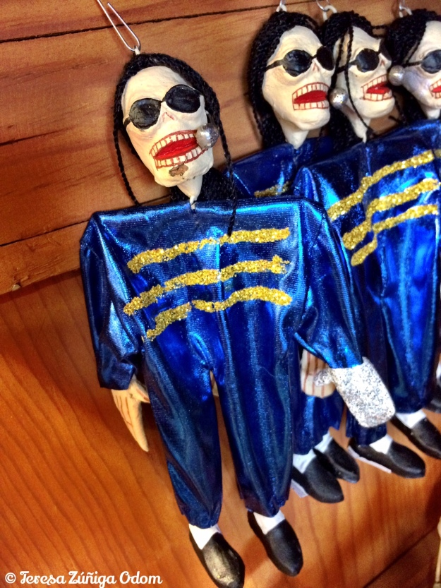 Michael Jackson Day of the Dead ornament! I wish I had bought it now...