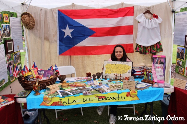 Puerto Rico booth!