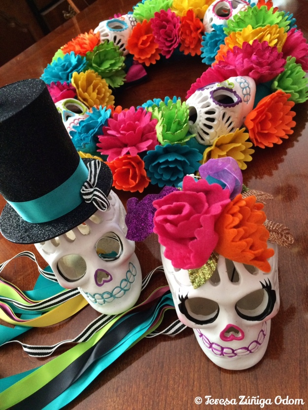 Sugar skull items found at Target this year...