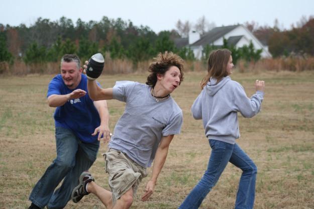 Odom Family football game - Thanksgiving 2007 - Jasper, AL.