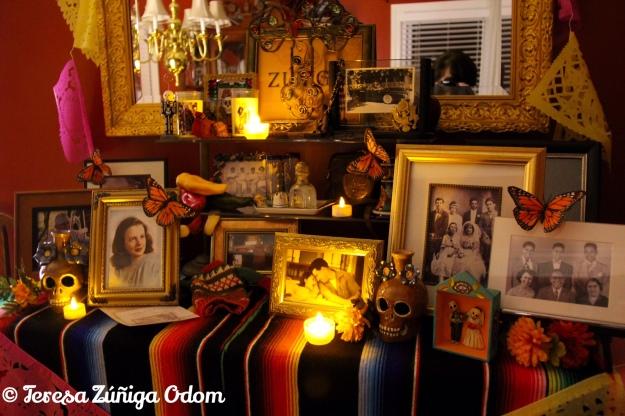 Zuniga-Odom altar at night