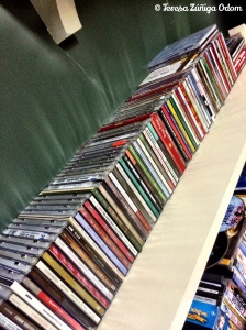My large collection of Christmas music at home...I like adding a few new cds each year!