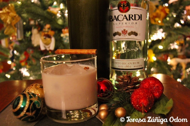 Coquito - Puerto Rican eggnog - is a tradition at Christmas time!