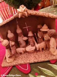 I love the look of this nativity I found today...so special!
