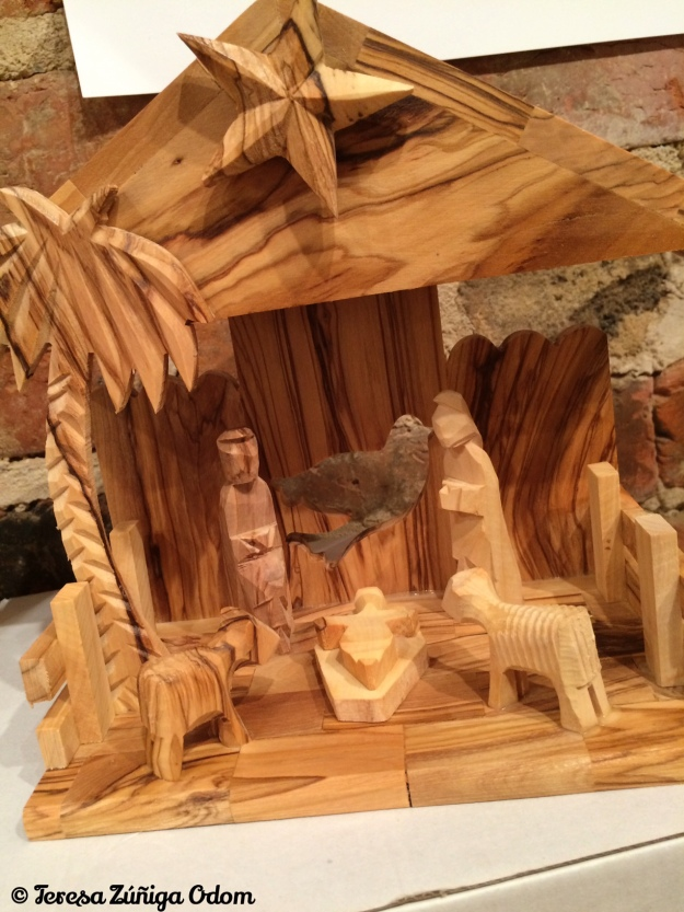 This is the nativity from Sojourns in Birmingham - that I bought for my daughter for her first married Christmas!