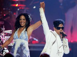 Prince and Sheila E perform at The Alma awards in Pasadena, CA - June 2007 - AP Photo
