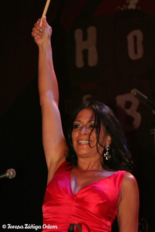 Sheila E. ends at the end of the concert she gave for the NCLR conference in Chicago - 2009.