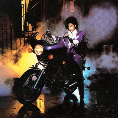 Purple Rain album cover - released in 1984