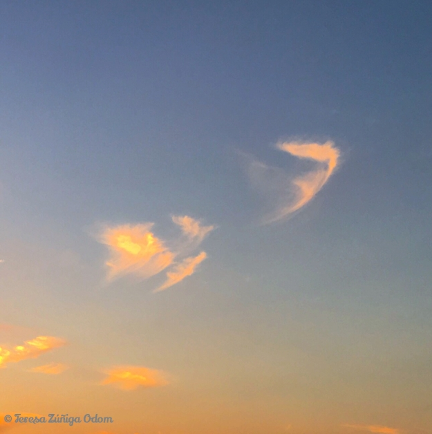 Angels descending, bring from above, echoes of mercy, whispers of love...Fanny Crosby