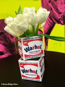 Andy Warhol exhibit at AEIVA last year.