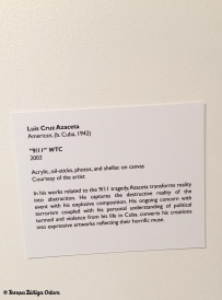 Description of the 9/11 WTC piece