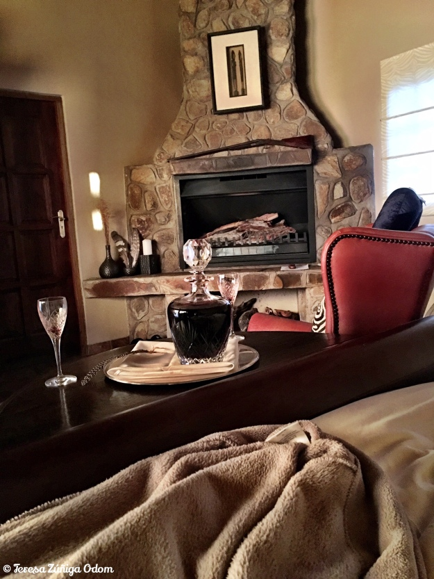 Our room at Hunters Namibia Safaris -