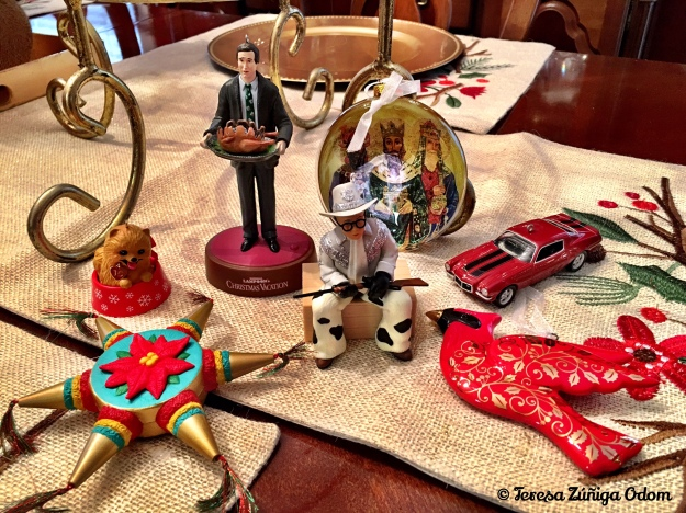 Our 2016 Hallmark ornaments to add to our growing collection.