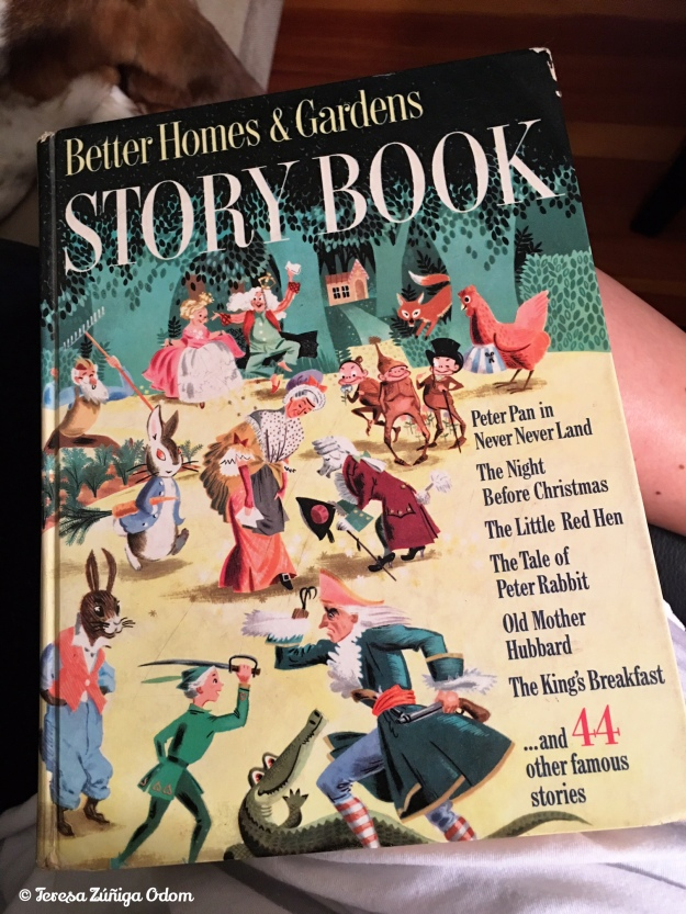 The Better Homes and Gardens Storybook that me and my sisters had as children living in Puerto Rico.