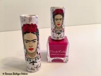 Love this dark pink color nail polish!