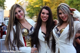 Las Valenzuela - Mexican musical group performs at Fiesta 2012