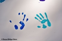 Our handprints!