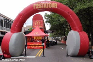 Fiesta Tour entrance