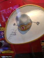 Sombrero worn and signed by Mexican singer Vincente Fernandez