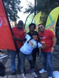 Walter Body from Coca Cola with Fiesta board members, Vanessa Vargas and Orlando Rosa - getting ready for the festival!