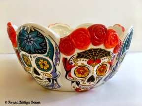 Sugar skull bowl from World Market