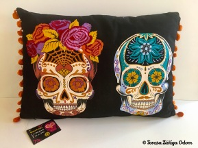 Sugar Skull pillow from World Market