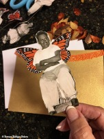 My Uncle Lorenzo wearing monarch butterfly wings!