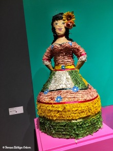 Mexican girl piñata from the 1970s