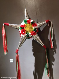 Traditional posada piñata