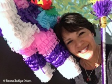 Selfie with the piñata!
