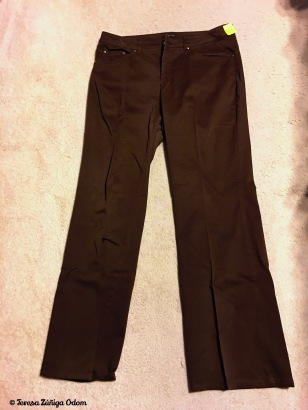 Jones New York brown pants