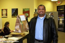 2009 - Miguel Vilchez picks up his tamales!
