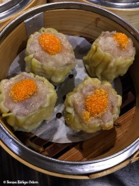 Sui Mai dim sum - pork and shrimp