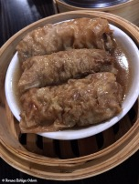 Steamed bean curd roll