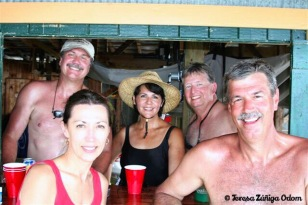 July 2007 - first get-together at the lake with the yet to be named Boondocks Gang