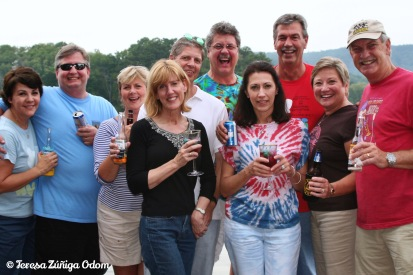 Sept 2009 - Group shot on the dock!
