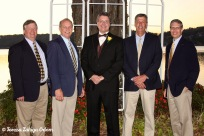 Oct 2010 - father of the bride and his fraternity brothers!