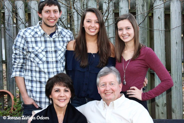 Nov 2011 - Odom Family photo