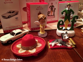 New Hallmark ornaments added to our collection this year...