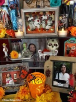 Center of the buffer altar with my cousins Chila and Lala featured.