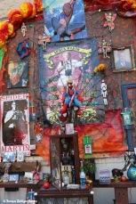 Spider Martin altar