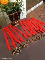Finalist medals