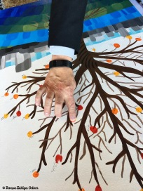 Placing fingerprints on a set of trees